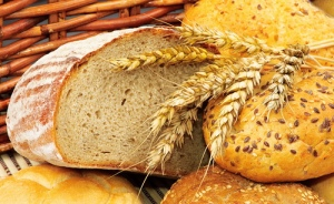 Freshly baked, hot bread.