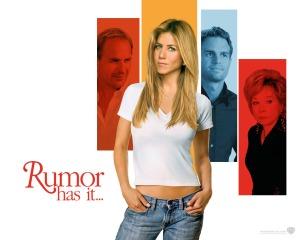 """Jennifer Aniston in, """"Rumor Has It."""""""