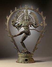 Shiva as the Lord of Dance.