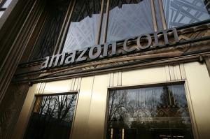 """""""Amazon.com"""" office in Seattle, U.S.A."""
