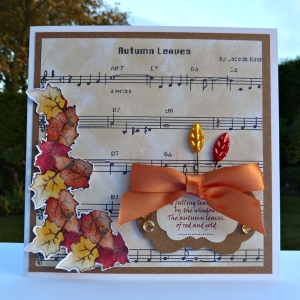 """""""Autumn Leaves"""" - the song."""