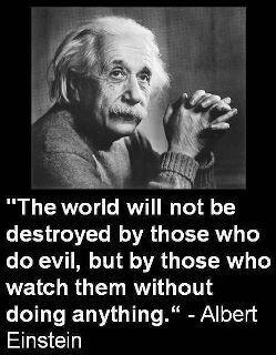 Albert Einstein had foresight when he put forth this irrefutable fact!