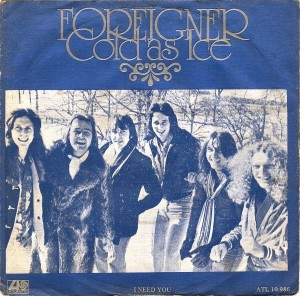 "Foreigner - ""Cold as Ice"""