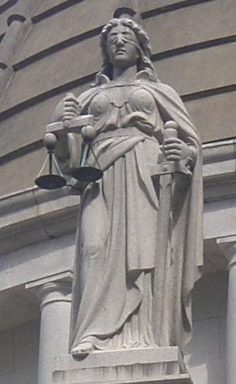 """Lady Justice"""