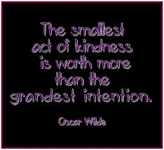 Quote on Kindness by Oscar Wilde