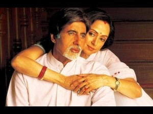 Amitabh & Jaya Bachchan make a superb couple in Baghban.