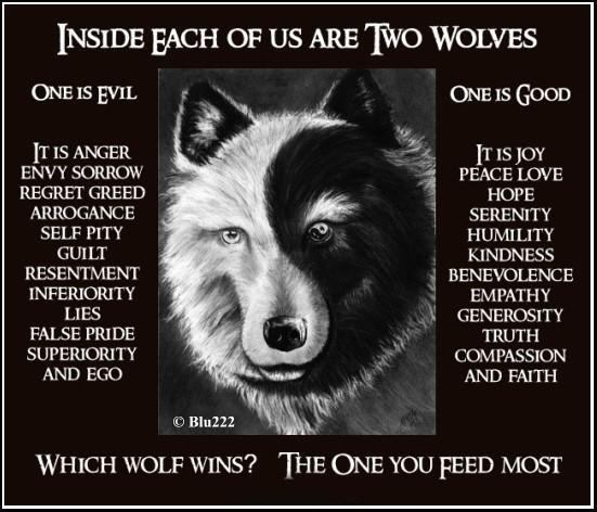 Two Wolves - a Cherokee Legend