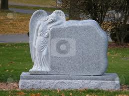 An unmarked gravestone.