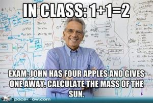 Math Teacher.....well-liked, respected? I think not!