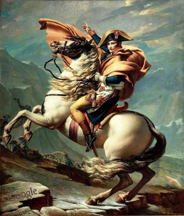 "Napoleon Bonaparte - "" Able was I ere I saw Elba."""