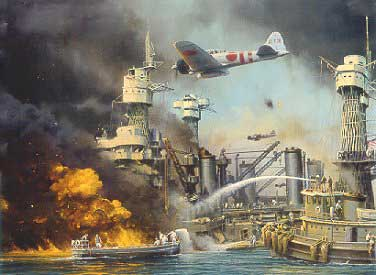 The Bombing of Pearl Harbour.