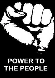 Power to the People! An End To Evil!