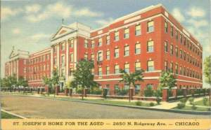 St. Joseph's Home for the Aged in Chicago, U.S.A.