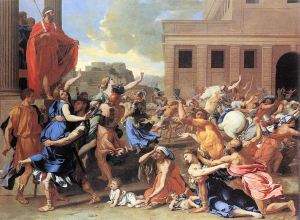 """The Rape of the Sabine Women"""