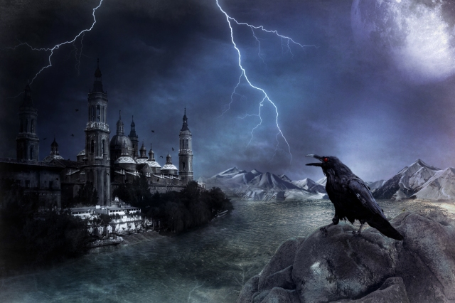 Transylvania Castle - Abode of Count Dracula.