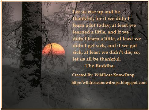 The Buddha says all that ever needed to be said.