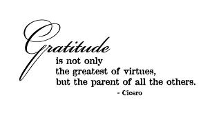 This is appreciation, thankfulness and gratitude. Learn to live by the goodness of it!