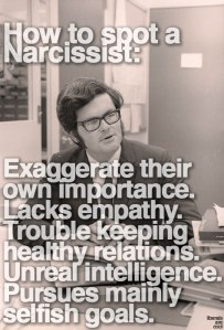 How to Spot a Narcissist.
