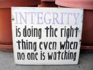 The meaning and value of integrity.
