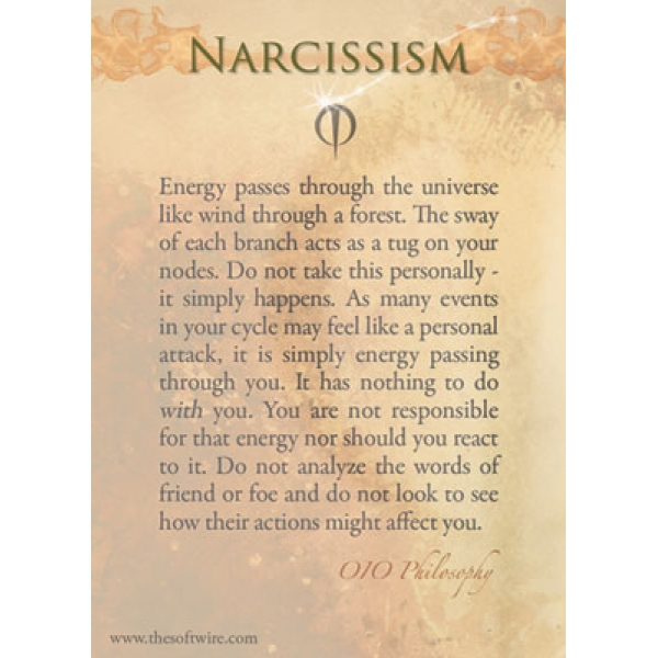 The Philosophy of Narcissism