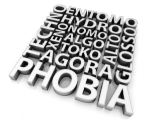 Phobias are extremes of irrational fear.