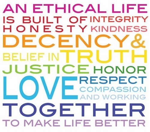 An ethical life consists of....