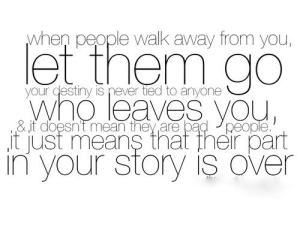 Walk away from people who are blatantly deceitful and who betray you - their part in the story of your life is over.