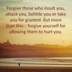 Forgiveness in the face of Betrayal....