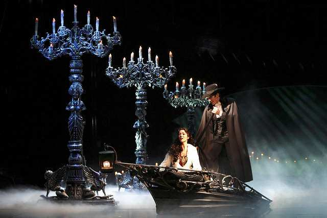 In the sewers below the Paris Opera House - Christine is led to the Phantom's Lair.