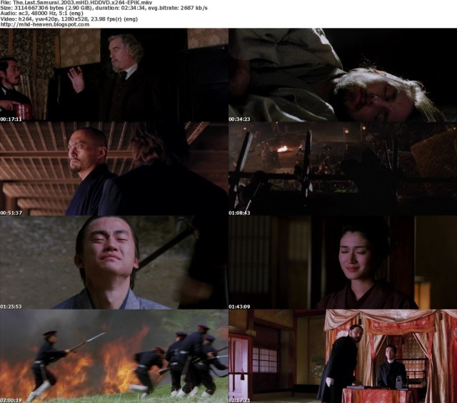 Another collage of scenes from the movie (2003.)