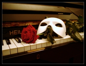 The Mask of the Phantom of the Opera.