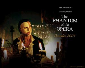 """The Phantom of the Opera"" - the Movie Poster."