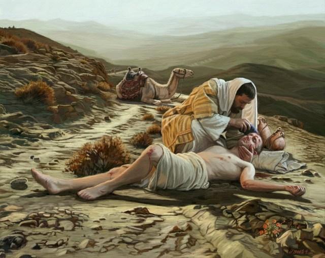 The Biblical Parable of the Good Samaritan.