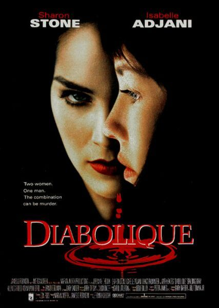 Diabolique-1955 Movie poster - women can be evil and manipulative too!