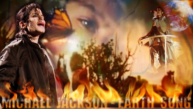 """Earth Song"" Wallpaper - Michael Jackson"