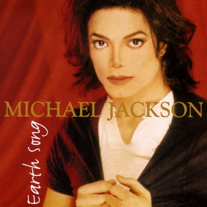 """Earth Song"" cd cover - Michael Jackson"