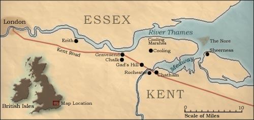 Essex/Kent - Map Location
