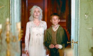 Young Pip was bewildered at the sight of the strange and peculiar woman that was Miss Havisham.