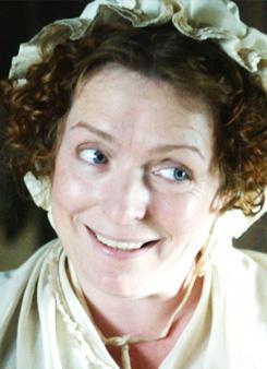 Mrs. Joe Gargery - elder sister of Pip.