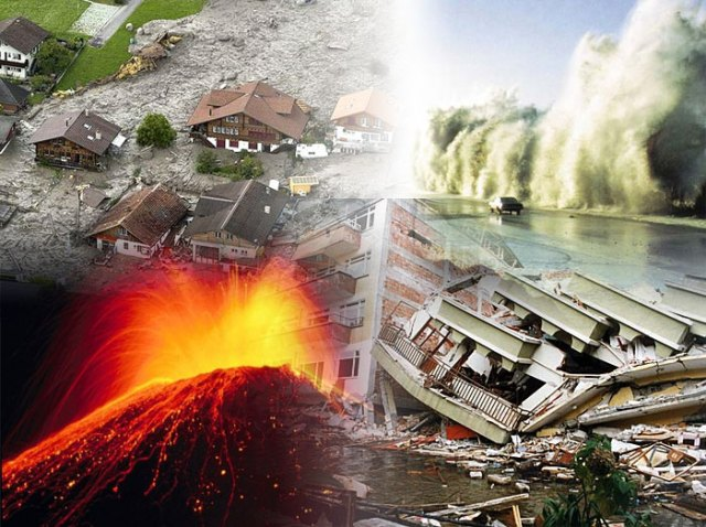The horror of natural disasters.