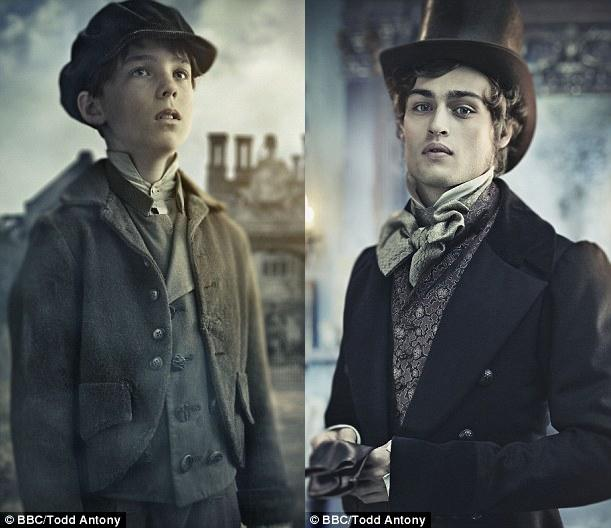 Pip Pirrip - the young, innocent boy and the adult, ambitious man.