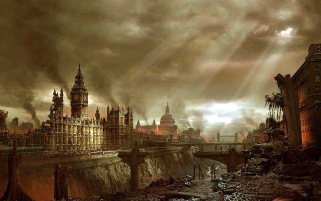 Post-Apocalypse London.