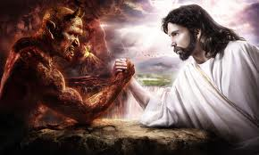The Eternal Battle of Good and Evil.