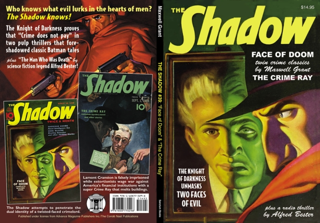 """The Shadow"" combats the Many Faces of Evil."