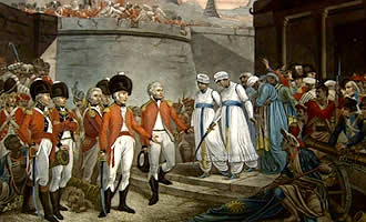 The East India Company under the British Imperial Rule.