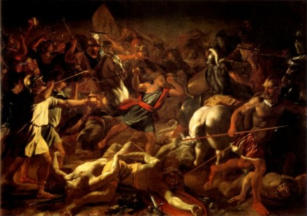 Genocide of the Amelakites and the Midianites.
