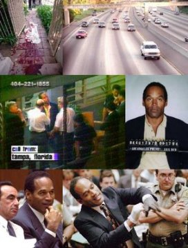 OJ Simpson - Scenes from the Murder Case and Trial.
