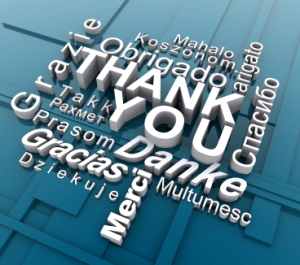 """Learn to say, """"Thank You."""""""