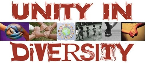 Unity in Diversity - the peaceful solution to our current life in a house divided.