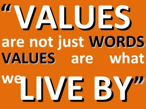 The essence of good values; the essence of a good Life!